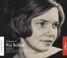 Homage to Ria Bollen, New Music