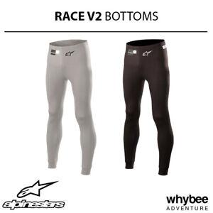 Sale! 4754118 Alpinestars 2019 RACE V2 Fireproof Bottoms Long Johns Pants