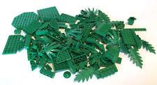 LEGO Green Bricks Mixed Bulk Lot 100+ Pieces GOOD VARIETY Parts Plates Tiles
