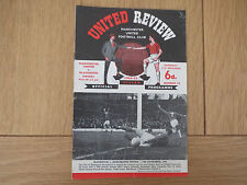 Manchester United V Blackburn    1964/5