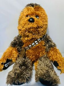 """Build A Bear Workshop Chewbacca Star Wars Excellent Condition 18"""" Plush Stuffed"""