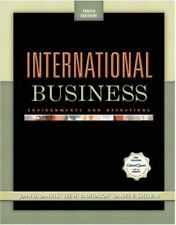 International Business : Environments and Operations by Daniel P. Sullivan,...
