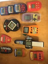 Vintage Handheld Electronic Games. Lot Of 12. Includes PAC Man