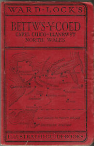 WARD LOCK RED GUIDE - BETTWS-Y-COED & NORTH WALES (NORTHERN) - c.1950 - 14th ed.