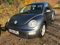 VW BEETLE 2.0 NEW MOT AND SERVICE READY TO DRIVE AWAY 5 SPD MANUAL HPI CLEAR