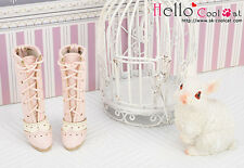 ☆╮Cool Cat╭☆【07-03】Blythe Pullip  High Heel Boots.Pink