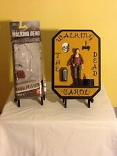 "Walking Dead Action Figure ""Carol"" Plaque"