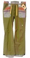 BURTON Women's VEAZIE Snow Pants - HICKRY/HAWTSK - Medium - NWT