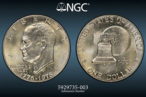 2015 D Ike Presidential Dollar MS-60 Condition Extremely Fine Details