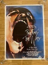 "Pink Floyd - The Wall - Scream Vintage Poster - ""Printed in Great Britain"""