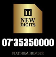 GOLD EASY MEMORABLE BUSINESS VIP PLATINUM MOBILE PHONE NUMBER SIM CARD 0000