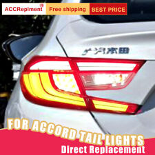 For Honda Accord 2018-2020 ALL LED Taillights Assembly Red LED Rear Lamps