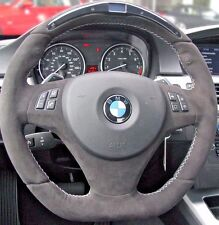 BMW OEM E90 E91 E92 E93 Performance Alcantara Steering Wheel Display For Paddles