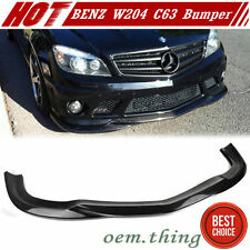 IN STOCK USA Carbon MERCEDES BENZ W204 C63 C-Class GH Bumper Lip Spoiler 08-11