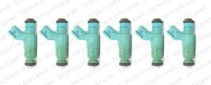 Set of 6 Bosch 0280156036 Injector 2001-2003 Dodge Intrepid 2.7L V6 04591756AB