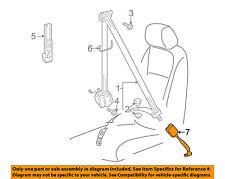 VW VOLKSWAGEN OEM 10-14 Jetta Front Seat Belt-Buckle End Left 1K3857755AKYLZ
