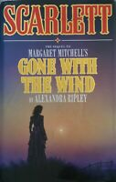 Scarlett Sequel to Gone with the Wind Hardcover Alexandra Ripley Free Postage