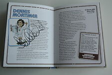 Dennis Mortimer Signed Autograph Aston Villa Football Pocket Book AFTAL & COA