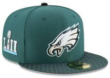 NFL On Field Super Bowl LII 52 Philadelphia Eagles New Era 59FIFTY Fitted  Hat 04f323fed