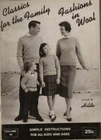 Classics for the Family Fashions in Wool Styled By Hilde Volume 83 Vintage 1956