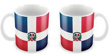 DOMINICAN REPUBLIC Flag Mug Gift Idea for Christmas Holiday Cup 029