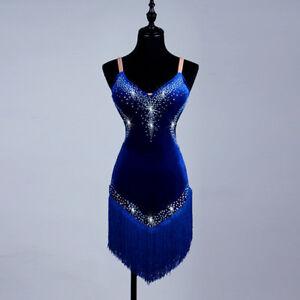 NEU Latino salsa Kleid TanzKleid LatinaKleid Latein Kleid Turnierkleid#F257