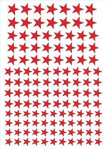 244 Star Vinyl Decal / Stickers Glasses Craft Projects Reward Chart Etc..