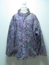 MENS VINTAGE RIPCURL 80s PRINTED COTTON LINED WITH FLEECE SZ LARGE