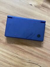 Nintendo DSi Handheld Console - Blue (for parts only) cracked screen