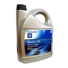 Olio motore auto GM Opel Dexos2 5W30 ACEA C3 API SN/CF - Tanica 5 Litri