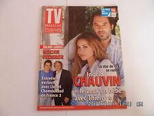 TV MAGAZINE DU 27/05/2012 INGRID CHAUVIN ROGER FEDERER NIKOS ET WILL SMITH   D27