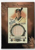2019 Allen & Ginter Baseball Framed Mini Relic Parallel Chipper Jones BAT