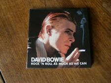 David BOWIE  Rock'n'roll as much as we can  (1ère édition)