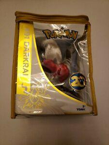 Pokemon 20th Anniversary 491 Darkrai Tomy Plush Toy w/ Zipper Bag Protector New!