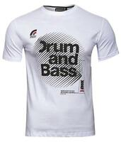 Reserved Men's Drum and Bass  T-Shirt White XX-Large