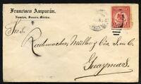MEXICO Local cover NAVOJOA to GUAYMAS 1914 - v/Nice