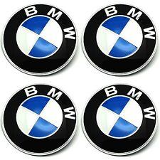 4 x BMW Emblem Felgen Aufkleber Logo Nabendeckel Nabenkappe Radkappe 4 x 56 mm