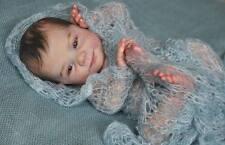 SMILA KIT BAMBOLA Bianco Vinile parti per effettuare una rinascita baby-not completato