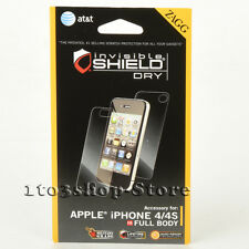 ZAGG Invisible Shield Dry Full Body Screen Protector For iPhone 4 / iPhone 4S