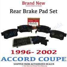 1996- 2002 Honda ACCORD V6 Genuine Factory OEM Rear Brake Set (43022-SY8-A02)