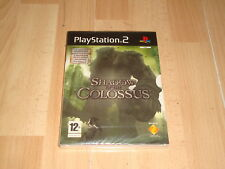 SHADOW OF THE COLOSSUS EDICION COLECCIONISTA PS2 + 4 POSTALES NUEVO PRECINTADO