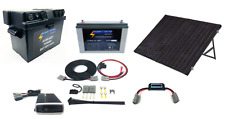 LIGHTNING Extreme Portable Solar & Power Package - 160W Solar Panel + 120AH Powe