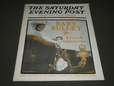 1905 AUGUST 12 THE SATURDAY EVENING POST MAGAZINE - BABY BULLET - SP 779