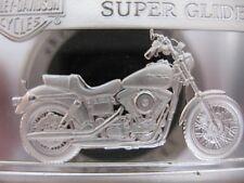 1996 HARLEY FXD DYNA SUPER GLIDE .999 PURE SILVER B/U