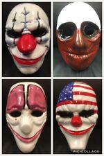 GB JUEGO COMPLETO DE PAYDAY 2 THE HEIST Máscaras Disfraz Halloween Cosplay