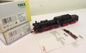 Minitrix Spur N 16383 Dampflok BR 38 3812 DB Metall digital   J19