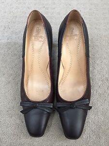Snowfly London Women's Office Work Party Wear Mid Heel Shoes Size 7