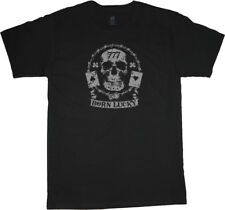Sale: 4XLT - Big and Tall Born Lucky Skull Tee Shirt Men's Bigmen Gifts