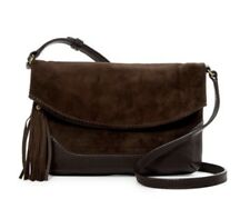 NWT $258 Frye DB400 Paige Small Crossbody Brown Leather Purse Hand Bag