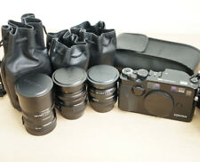 CONTAX G2 KIT- BLACK - with 28mm, 45mm and 90mm lenses, + EXTRAS! (CLA'd)